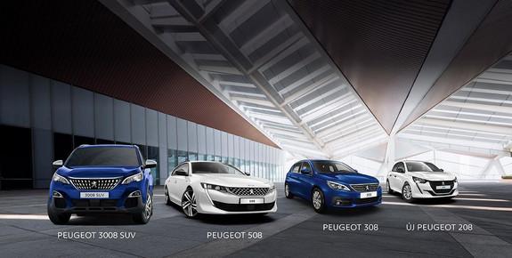 Peugeot készletakció