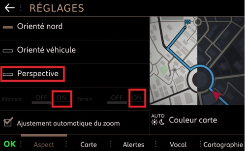 3D online navigace;